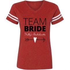 Team Bride Heart Arrow