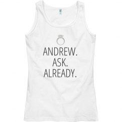Hey. Ask Already