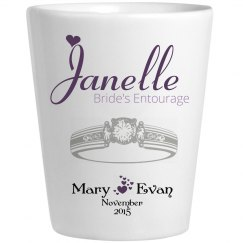 Wedding Glass Janelle