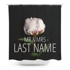 Custom Floral Mr. & Mrs. Home Decor
