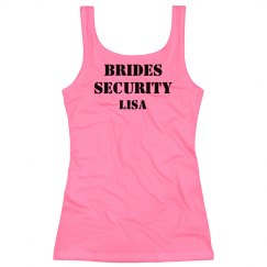 Bride's Security