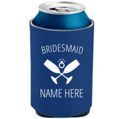 Custom Bridesmaid Koozie Diamond