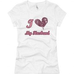 I Love My Husband Heart