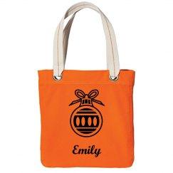 Bride Tote Bag Orange