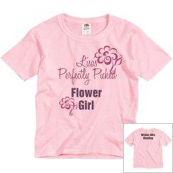 Flower Girl Tee w/Back