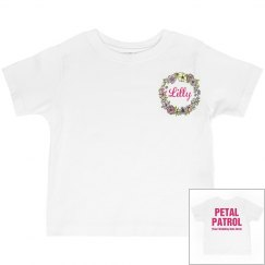Personalized Flower Girl Shirt