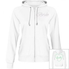 Bride Sweatshirt - Heart & Ring