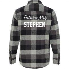 Future Mrs Flannel Shirt