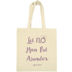 Let No Man Put Asunder with Bible Verse