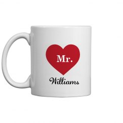 Mr. and Mrs. Coffee Mugs