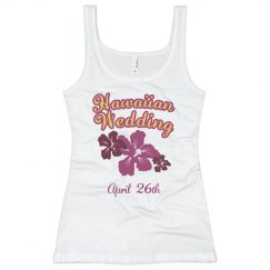 Hawaiian Wedding Tank