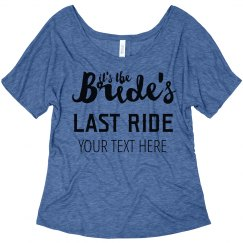 It's The Bride's Last Ride Nashville