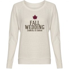 Fall Wedding Tee