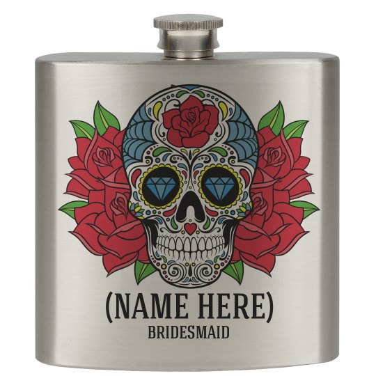 Calavera Skull Bridesmaid