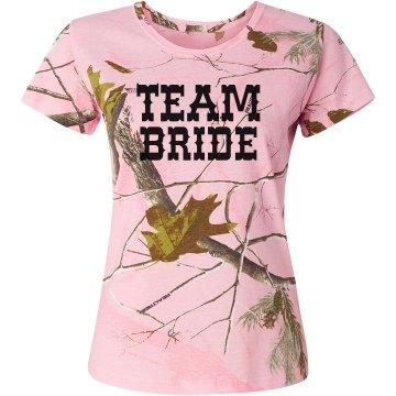 Camo Team Bride