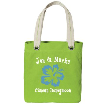 Cancun Honeymoon Bag