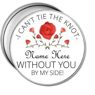 Can't Tie The Knot Bridesmaid Tin