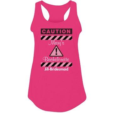 Caution! Bachelorette