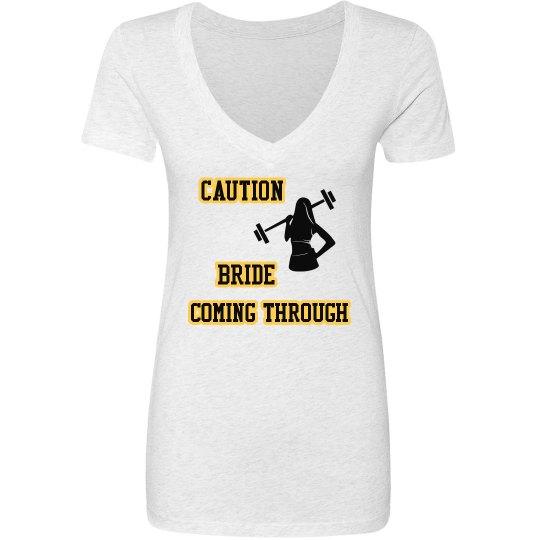 CAUTION--White