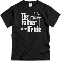 Father of the Bride, Bridal party Shirt