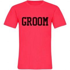 The Groom Neon Tee
