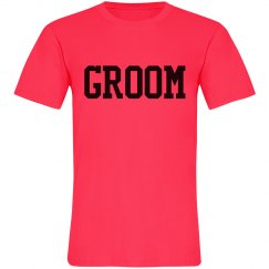 The Groom Neon Tee