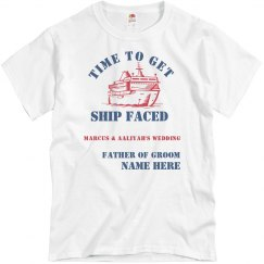 FATHER OF GROOM SHIP FACED