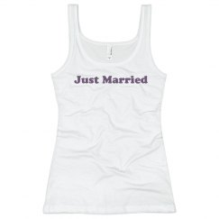 Just Married Wedding Top