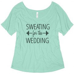 Sweating for Wedding Tshirt