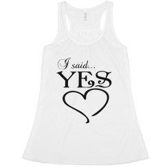 I SAID YES