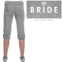 Bride Sweatpants All Caps