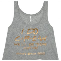 Metallic Friends I Do Crew Bachelorette