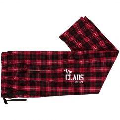 Mr & Mrs Claus Est. Custom Date