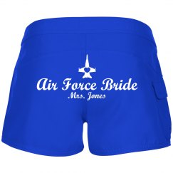 Air Force Beach Bride