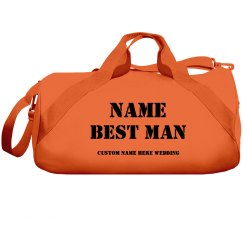 BEST MAN DUFFEL BAG