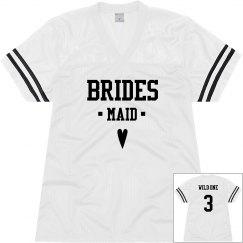 Bridesmaid Heart