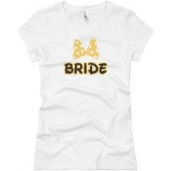Custom Bride  Tee