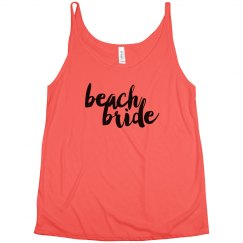 Beach Bride Tank Top