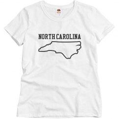 Women's North Carolina T-shirt
