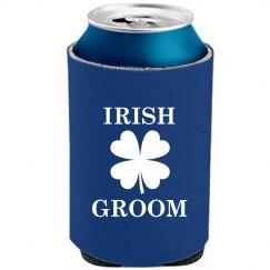 Cheers to Irish Groom