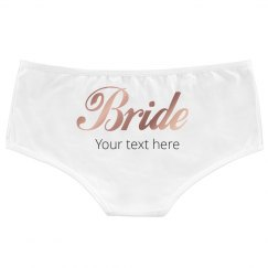 Custom Bride Hotshorts