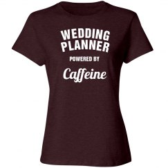 Wedding  Powered by caffeine
