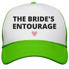 Bride's Entourage Heart