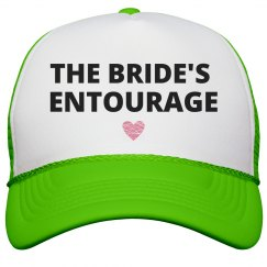 Bride's Entourage Heart