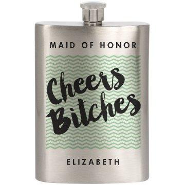 Cheers MOH Mint Chevron