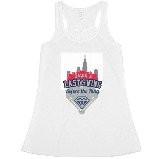 Chicago Bachelorette Baseball Tank