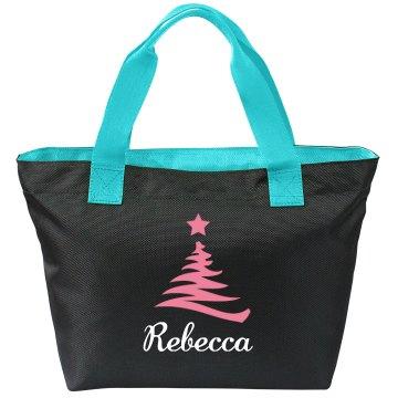 Christmas Bride Tote Bags