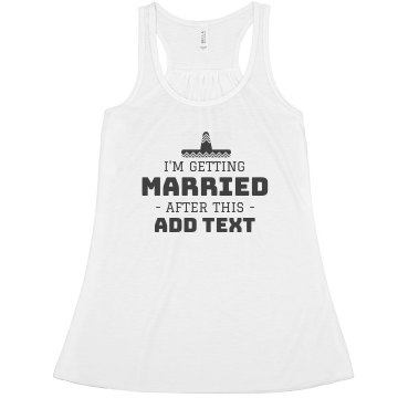 Cinco De Taco Married Bachelorette Tank