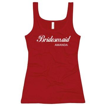 Classic Bridesmaid Logo