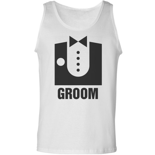 Classy Groom w/ Back